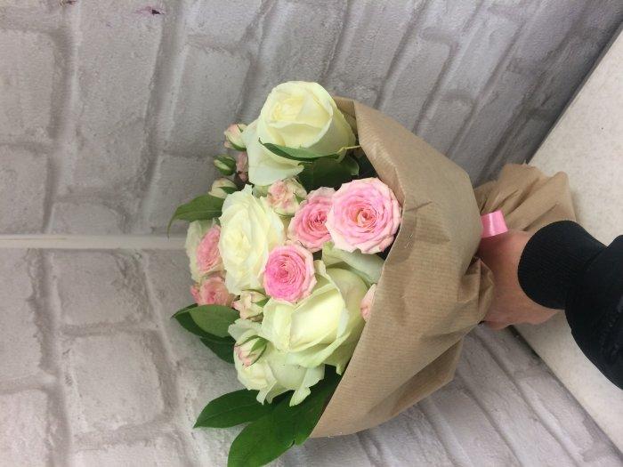 Купить букет длинные цветов спб — 14